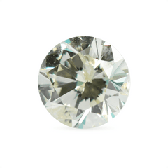 0.90 ct Champagne Colour Round Brilliant Recycled Diamond