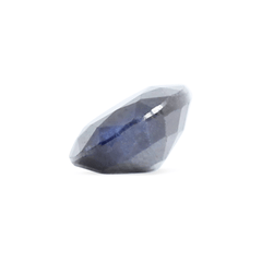 0.97 Blackish-Blue Oval Mixed Cut Sapphire