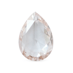 1.01 Cherry Blossom Pink Pear Rose-Cut Diamond