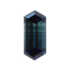 1.01 ct Blue Elongated Hexagonal Step Australian Sapphire