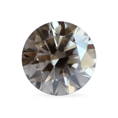 1.01 Obsidian Brown Round Brilliant-Cut Lab Diamond