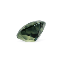 1.02 Sunny Forest Green Pear Modified Brilliant Cut AKARA Sapphire