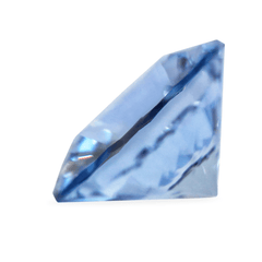 1.08 AKARA Certified Round Forget-Me-Not Blue Sapphire