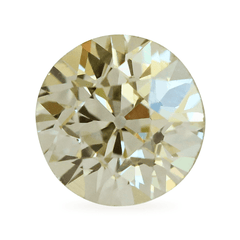 1.09 ct Champagne Colour Old European Round Brilliant Diamond - Fairtrade Jewellery Co.