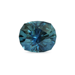 1.10 Peacock Blue Modified Cushion Brilliant Cut Montana Sapphire