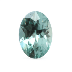 1.11 Spring Meadow Green Oval Montana Sapphire