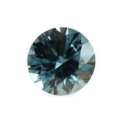 1.16 Rainy Dreams Blue Round Brilliant Cut Montana Sapphire