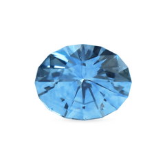 1.32 Indigo Blue Oval Modified Brilliant Cut Montana Sapphire