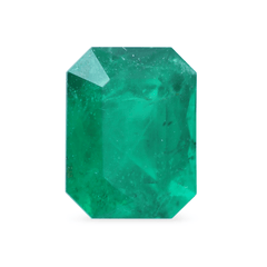 1.35 Scissor-Cut Mined Emerald