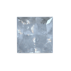 1.37 ct Silver Mist Princess-Cut Rustic Diamond
