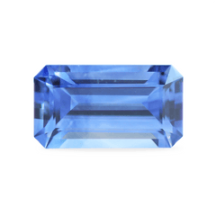 1.52 Deep Water Blue Cut Corner Rectangular Akara Sapphire