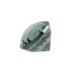 1.71 Teal Modified Cushion Brilliant Cut Montana Sapphire - Fairtrade Jewellery Co.