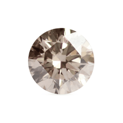 1.73 ct Honey Brown Round Brilliant Diamond