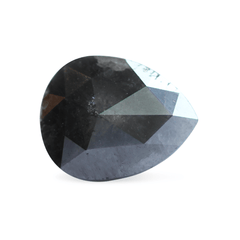 1.94 Almost Black Pear Rose-Cut Post Consumer Diamond