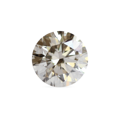 1.02 Honey Yellow Round Brilliant Laboratory Grown Diamond