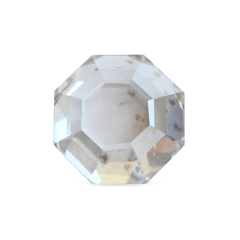 1.09 ct Silver Ash, Peppery Octagonal Step Cut Diamond