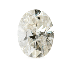 1.18 J I2 Oval Brilliant Recycled Diamond