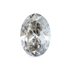 1.48 Raven Grey Oval Brilliant Laboratory Grown Diamond
