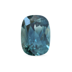 1.80 ct Greenish Blue Cushion Modified Brilliant Australian Sapphire