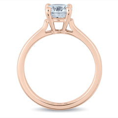 Basket-Set Diamond Solitaire