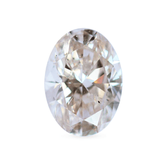 2.00 Oval O Colour SI1 Lab Diamond