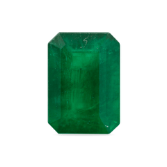 2.03 Green Emerald-Cut Emerald