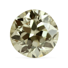 2.14 Faint Yellow (U to V Range) Vintage Diamond