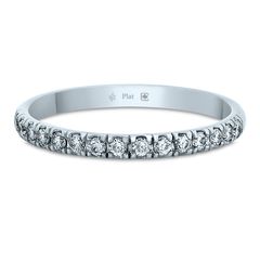 2mm Platinum Stacker Eternity Band - Fairtrade Jewellery Co. - 1
