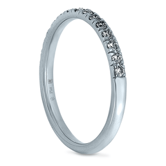 2mm Platinum Stacker Eternity Band