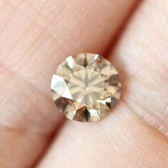 1.00 Obsidian Brown R Colour Round Brilliant-Cut Lab-Grown Diamond