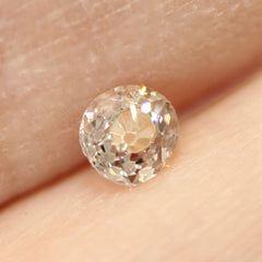 0.31 Brown Old Mine Cut Vintage Diamond