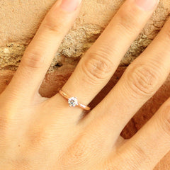 More Than a Promise Ring in Rose Gold