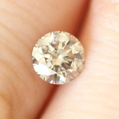 0.51 Ash Grey Round Lab Diamond