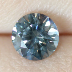 1.74 Rainy Dreams Blue Round Brilliant Cut Montana Sapphire