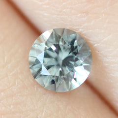 0.81 Stormy Blue Round Brilliant Cut Montana Sapphire