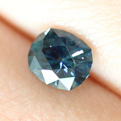 1.15 Deep Navy Modified Cushion Cut Montana Sapphire