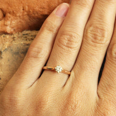 More Than a Promise Ring in Rose