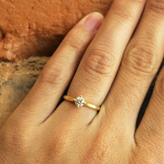 More Than a Promise Ring in Yellow