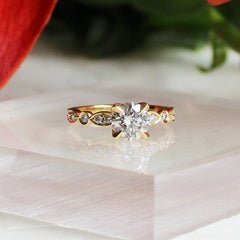 Vintage Style Clara Engagement Ring
