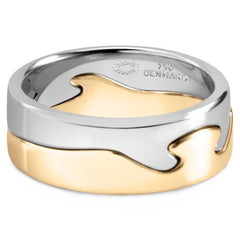 18K George Jensen Fusion Ring, Size 10.25 - 40% Off