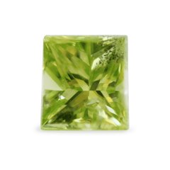 0.92 Fancy Natural Green Vintage Rectangular Modified Brilliant