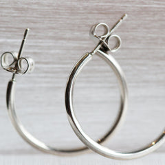 "1"" Hoop Earrings"