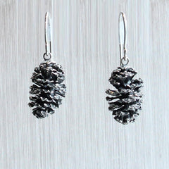 Large Alder Cone Earrings