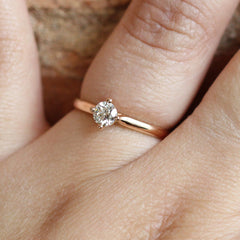 More Than a Promise Ring in Rose Gold - Fairtrade Jewellery Co.