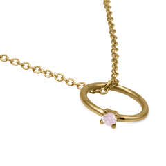 Itty Bitty Ring Pendant with Argyle Natural Pink Diamond