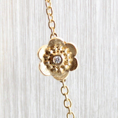 Asymmetrical Flower Necklace - Fairtrade Jewellery Co.