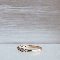 18K Fairtrade/Fairmined Rose Gold Clara Band