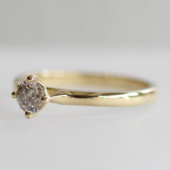 More Than a Promise Ring in Yellow Gold - Fairtrade Jewellery Co.
