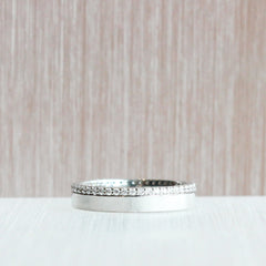 4 mm Platinum Eternity Band