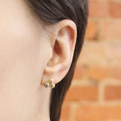 Multicolour Molecule Stud Earrings